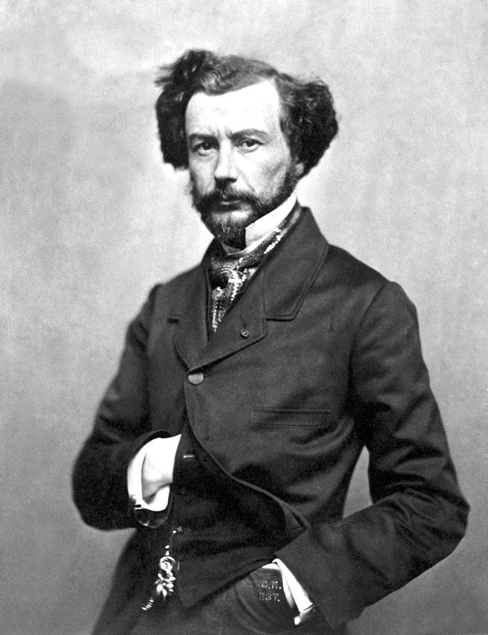 Maxime Du Camp, fotografuar nga Nadar në vitet 1860.