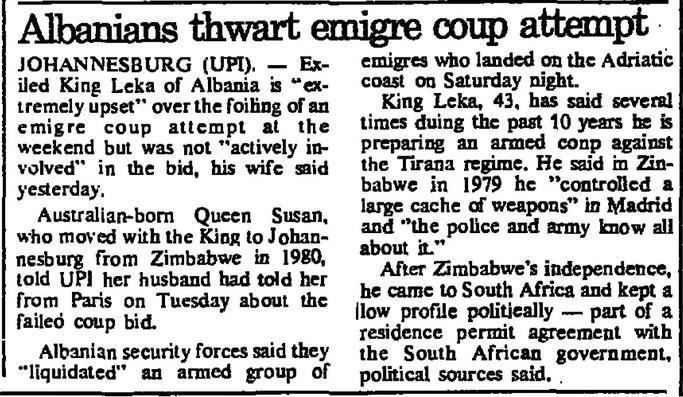 Burimi : The Jerusalem Post, 30 shtator 1982, f.4