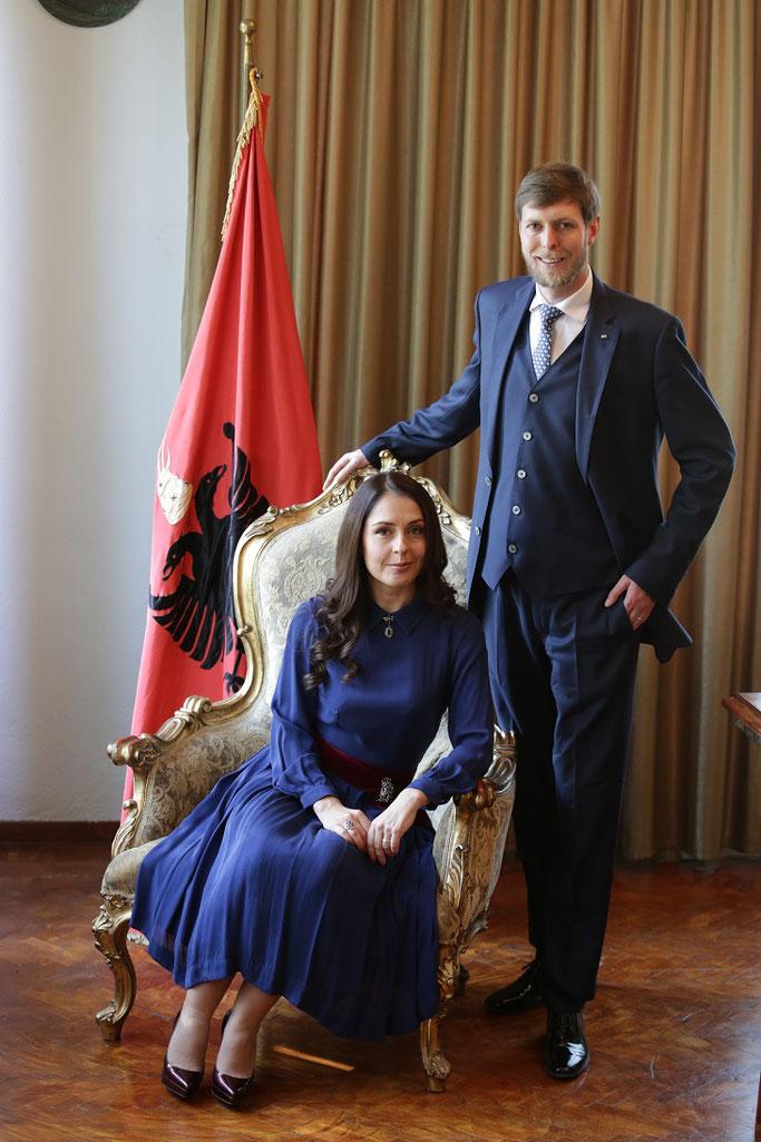 Elia Zogu - Zaharia dhe Princ Leka II