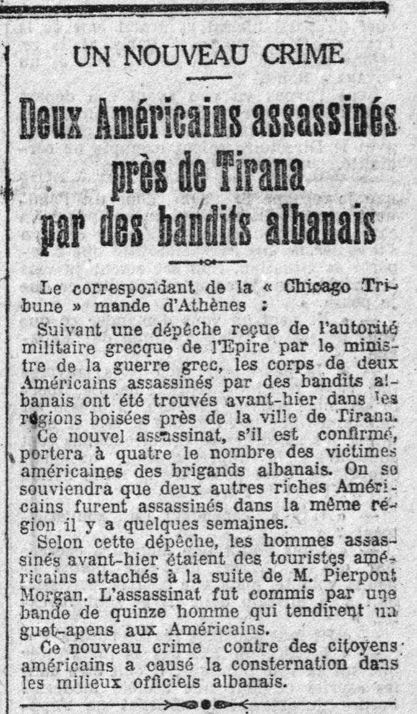 Le Radical, ballinë, e shtunë, 19 prill 1924 – Burimi : gallica.bnf.fr / Bibliothèque nationale de France
