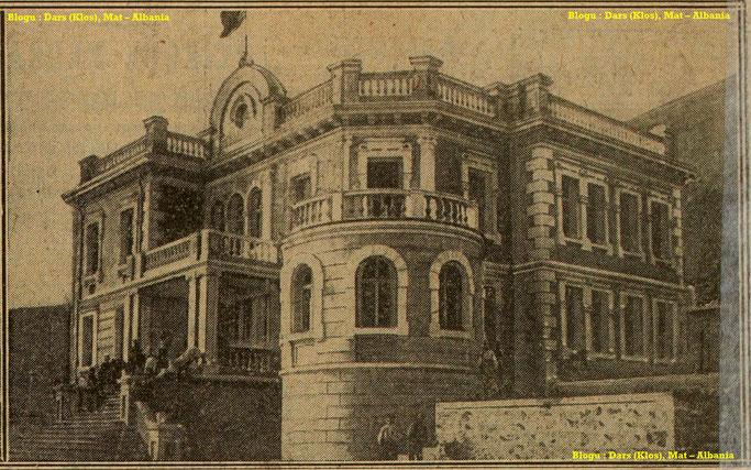 Foto : Rezidenca e mbretit të ri të Shqipërisë në Shkodër – Burimi : gallica.bnf.fr / Bibliothèque nationale de France