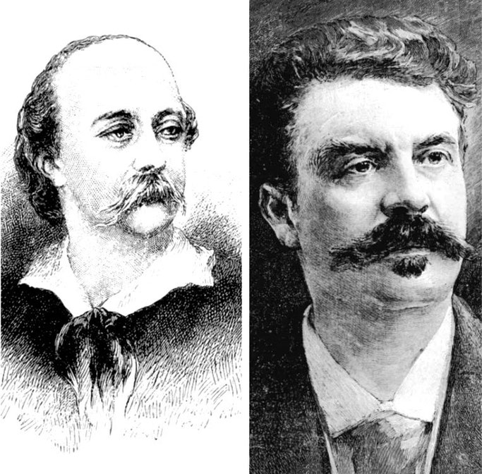 Gustave Flaubert (1821-1880) dhe Guy de Maupassant (1850-1893)