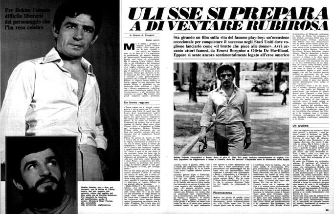 Burimi : Radiocorriere (1968)
