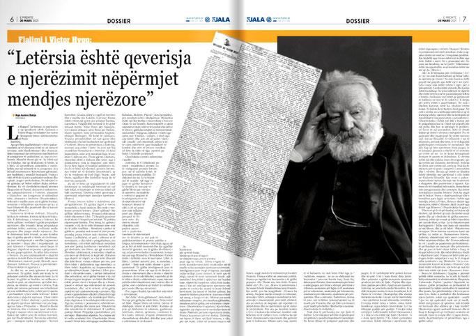 Gazeta Fjala, e premte, 26 mars 2021, f.6-7