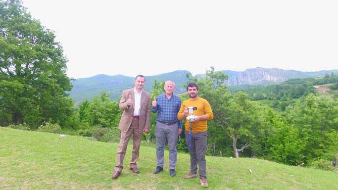 Hamdi Ruka, Fatmir Gjestila dhe Bert Neziri