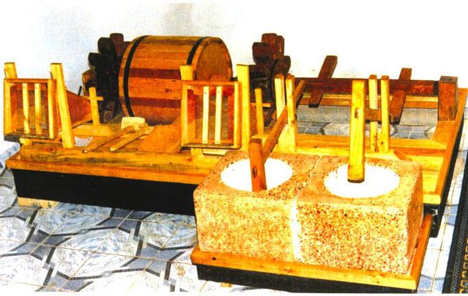 Maket i dinges se barutit (pergatitur nga Sefedin Kurti)