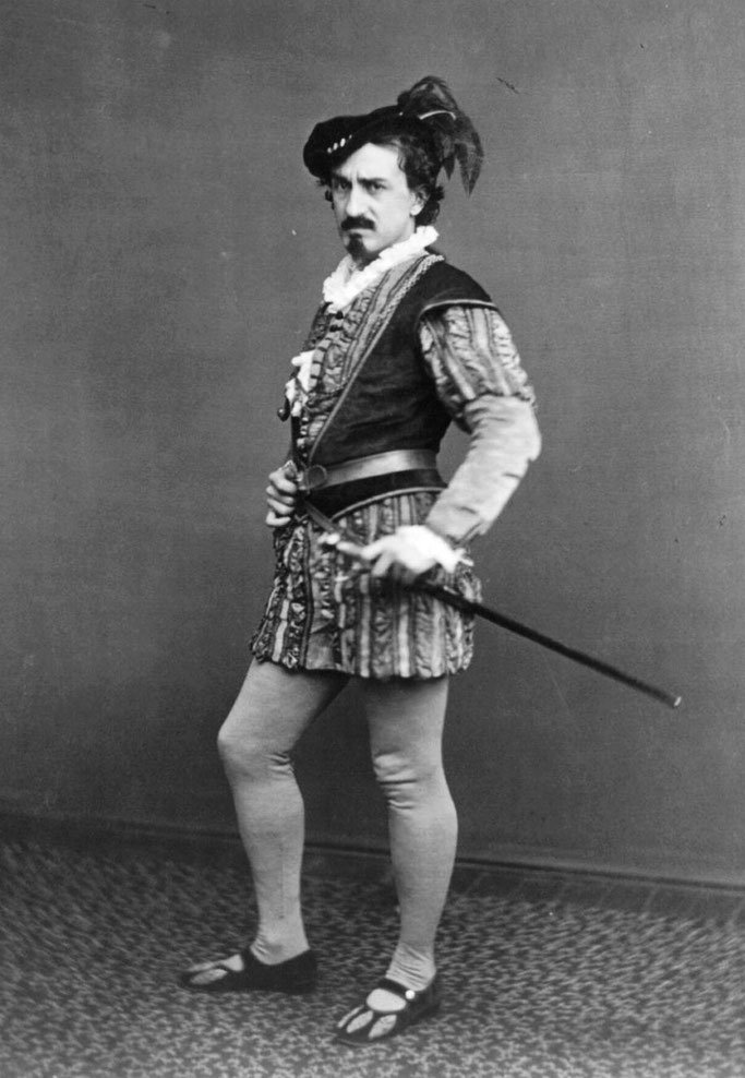 Edwin Booth në rolin e Jagos (1870)