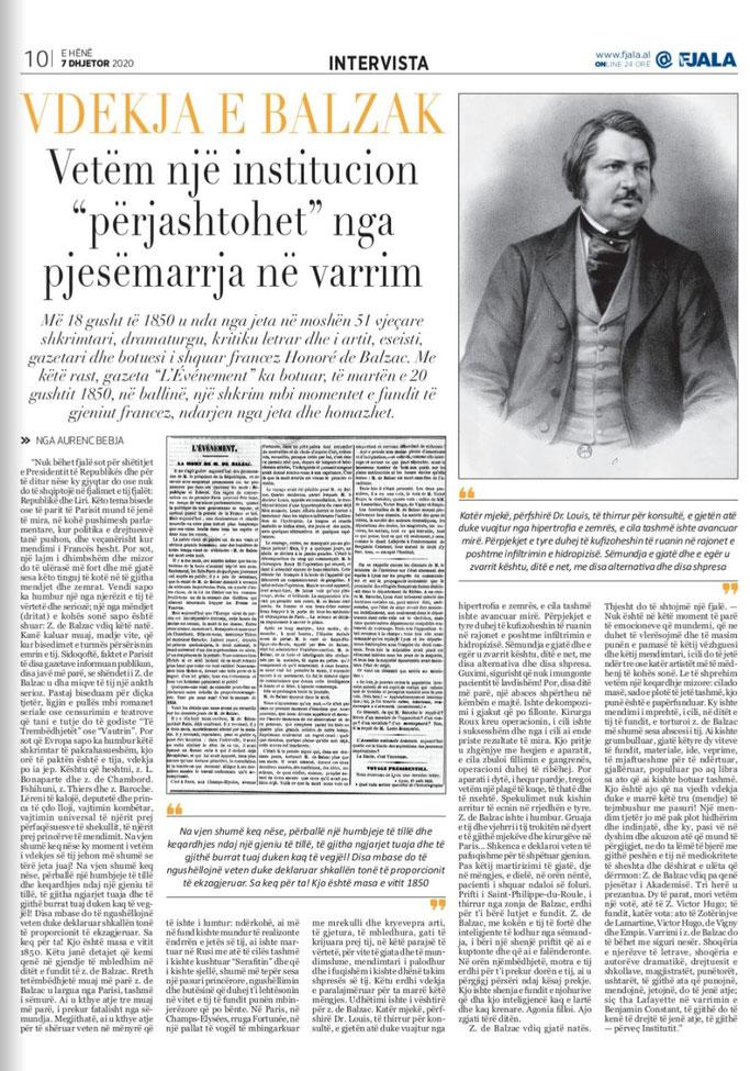 Gazeta Fjala, e hënë, 7 Dhjetor 2020, f.10