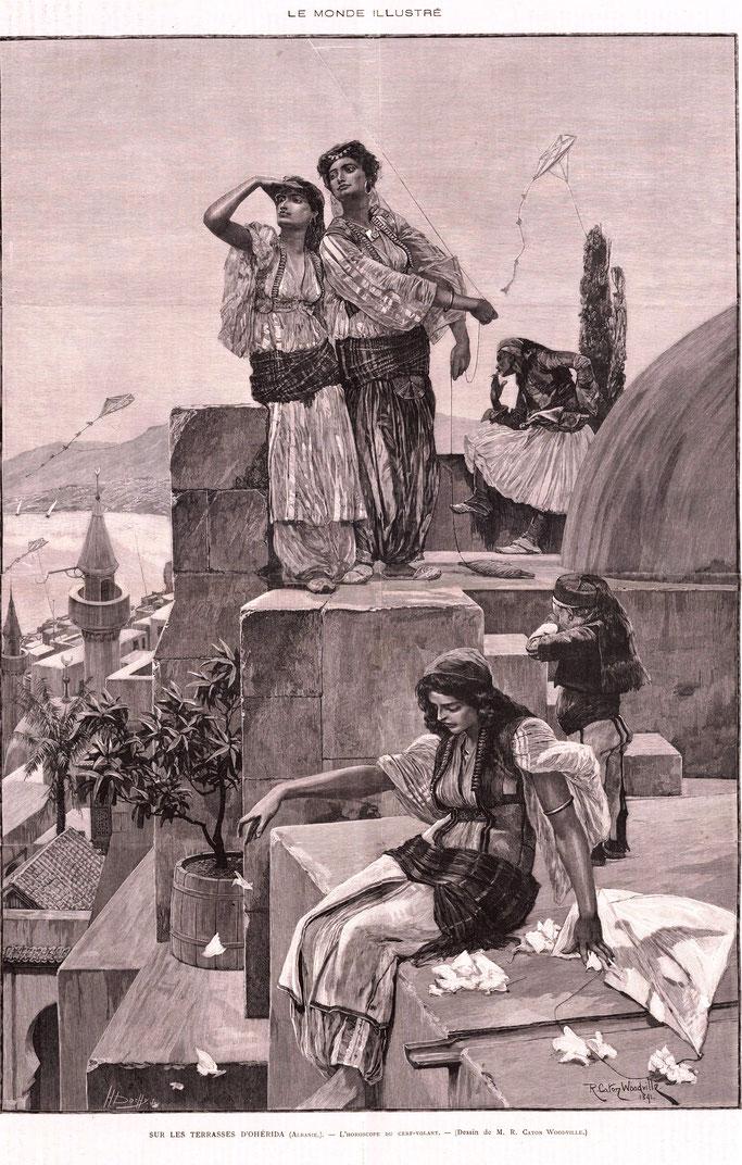 Burimi : Le Monde illustré, Bibliothèque nationale de France, département Philosophie, histoire, sciences de l'homme – Gallica / Bibliothèque nationale de France