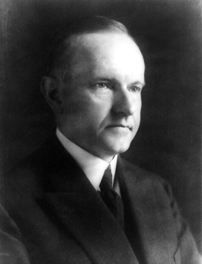 Calvin Coolidge – President i Shteteve të Bashkuara të Amerikës