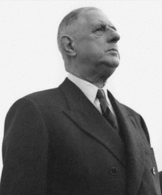 Charles de Gaulle (President i Francës nga 8 janari 1959 deri më 28 prill 1969)