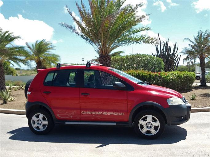 VW-crossfox-urlaub-curacao-mietwagen