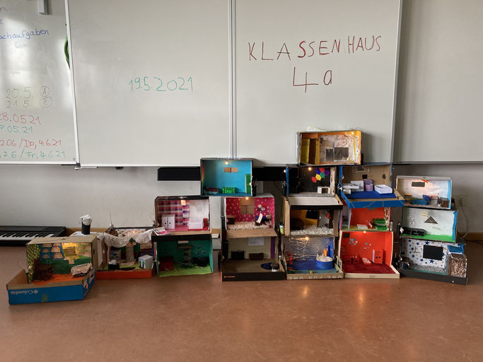 Klassenhaus der Klasse 4a