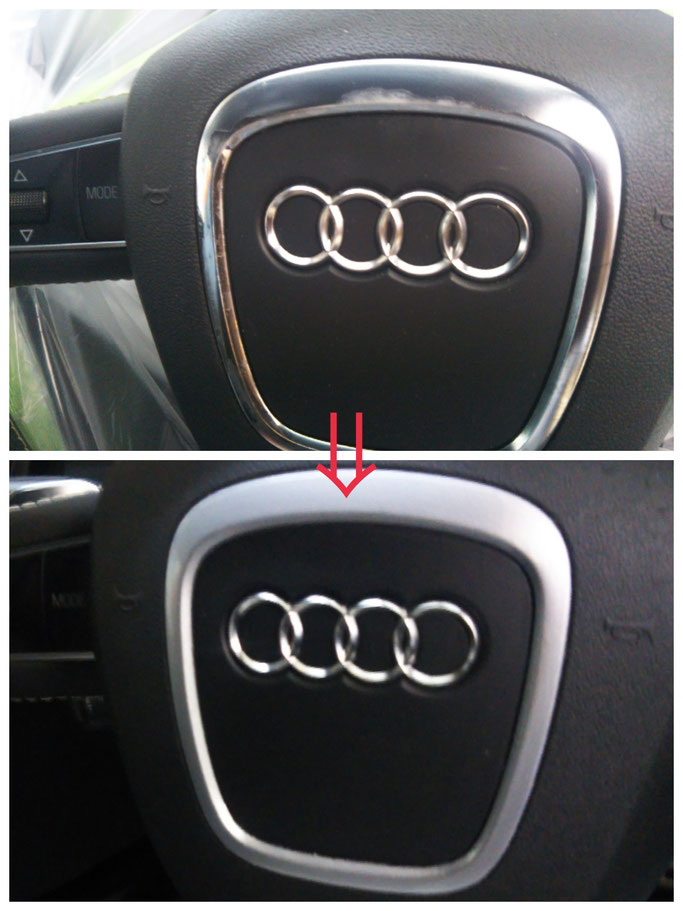 自動車内装修理、アルミホイール修理
