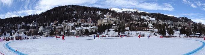 Cricket on Ice (13-15.2.2020) - St Moritz Lake, St Moritz, Switzerland