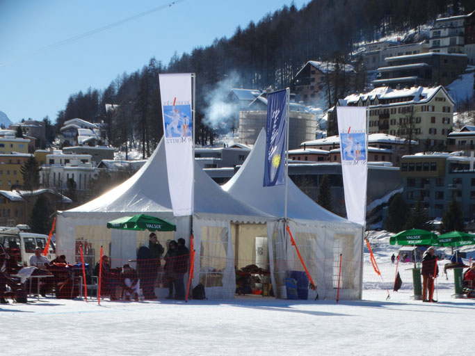 Spectator area & lunch tent (COI, 14-16.2.2019)