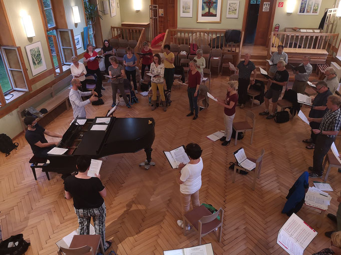 Philharmonischer Chor Weimar probt wieder live