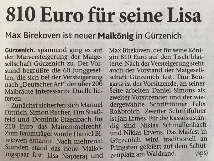 Dürener Zeitung, 07.04.2018