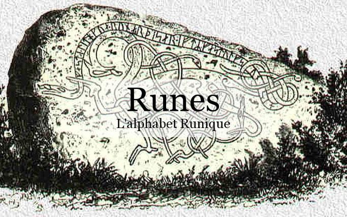 modification de l'alphabet runique par les peuples