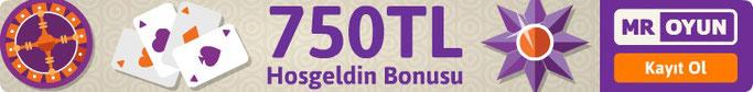 Mr Oyun Hoşgeldin Casino Bonusu