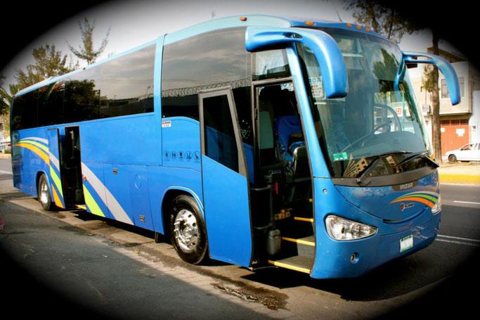 Renta de autobuses de turismo en CDMX