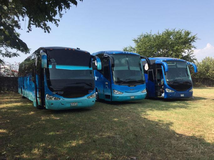 Características de autobuses