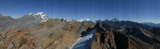 Wunderschönes Panorama vom Torrenthorn