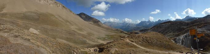 Panorama vom Saflischpass