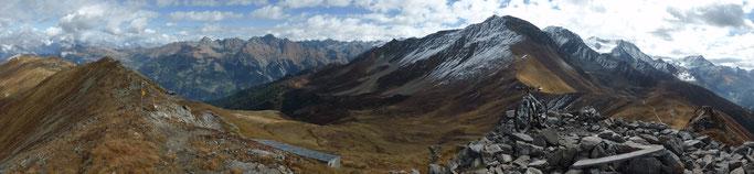 Panorama vom Mont Brûlé