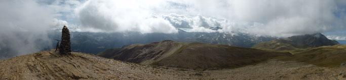 Panorama vom Breithorn