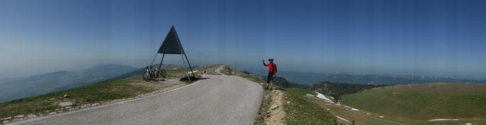 Panorama über die Jurahöhen