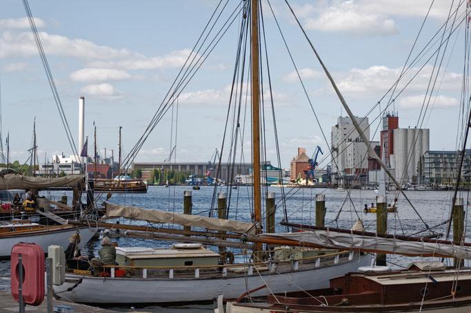 Flensburg und die Ochseninseln im Mai - Hafen - Zebraspider DIY Anti-Fashion Blog
