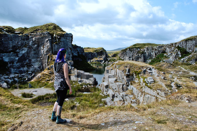 Dartmoor Quarry - Steinbruch Fotos - Zebraspider DIY Anti-Fashion Blog