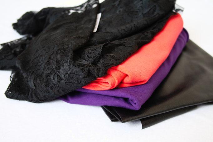 Arbeitstitel: Neue Klamotten 2018 - Rosenspitze, Jersey und Kunstleder - Zebraspider DIY Anti-Fashion Blog