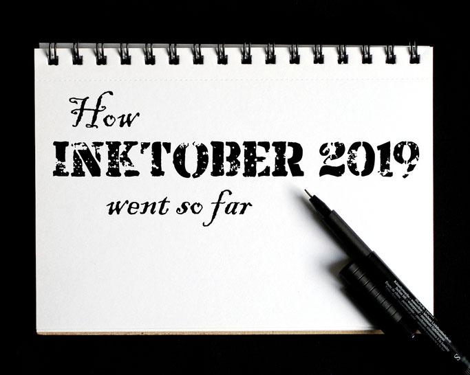 How Inktober 2019 went so far - Zebraspider DIY Anti-Fashion Blog