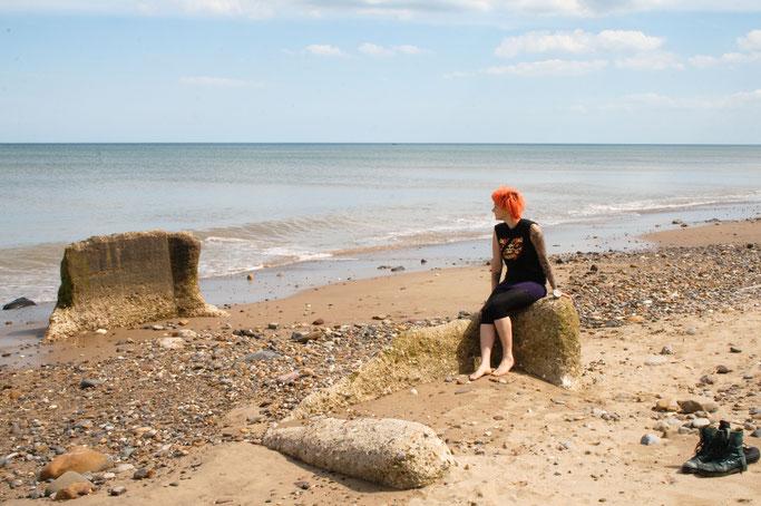 Ausfahrt zum Strand - Beton und ich am Meer - Zebraspider DIY Anti-Fashion Blog