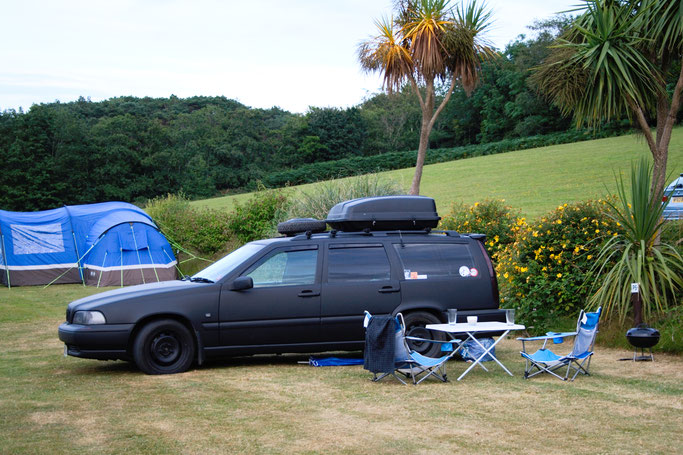 Zum Urlaub nach Cornwall - Campingplatz Carlyon Bay - Zebraspider DIY Anti-Fashion Blog