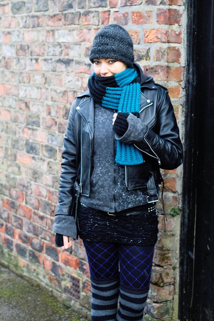 Ausgehoutfits im Winter - warm und stylisch angezogen - Zebraspider DIY Anti-Fashion Blog