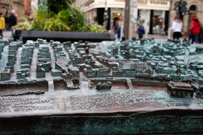 Ein paar Stunden in Glasgow - Stadtplan zum Anfassen - Zebraspider DIY Anti-Fashion Blog