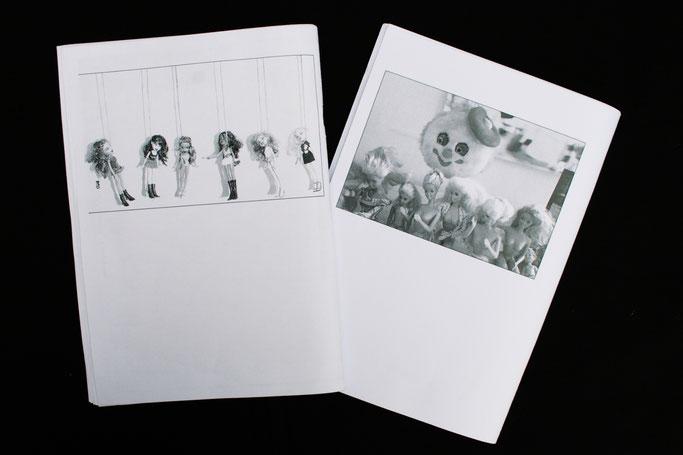 Okapi_Riot - Fanzine Vorstellung - Rückseite - Zebraspider DIY Anti-Fashion Blog