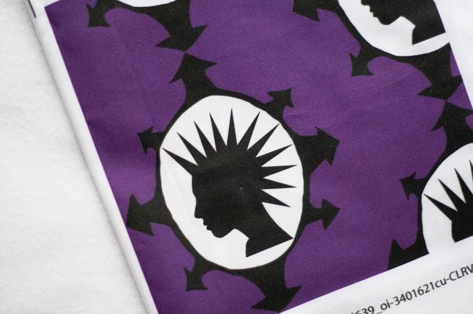 Neue und alte Muster auf Stoff - Madame Chaos - Zebraspider DIY Anti-Fashion Blog