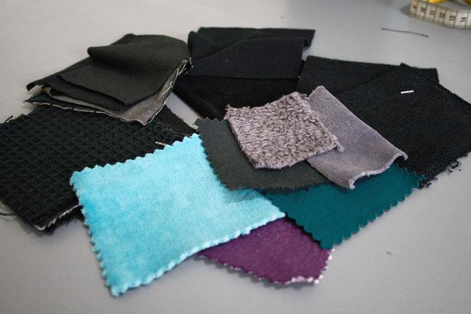 Warum Zebraspider immer grüner wird - Stoffmuster aus Biobaumwolle - Zebraspider DIY Anti-Fashion Blog
