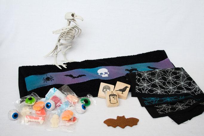 Halloween Wichteln - alle DIY Geschenke und Süßigkeiten - Zebraspider DIY Anti-Fashion Blog