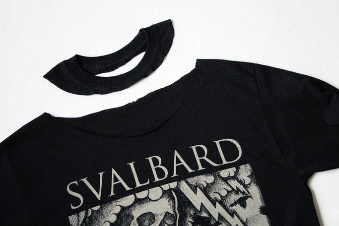 MPF Entdeckungen + Bandshirt-Upgrade - Svalbard Langarm Shirt DIY - Zebraspider DIY Anti-Fashion Blog