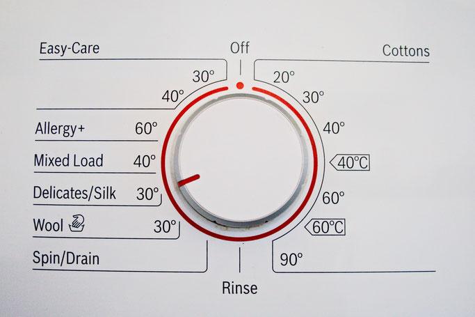 Wie wasche ich selbst genähte Sachen? - Waschmaschine Einstellung Feinwäsche - Zebraspider DIY Anti-Fashion Blog
