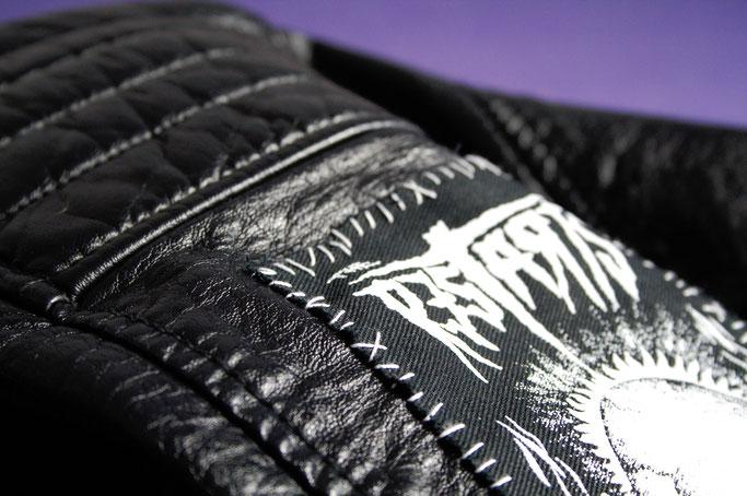 Projekt Lederjacke & politische Gedanken - Restarts Aufnäher - Zebraspider DIY Anti-Fashion Blog