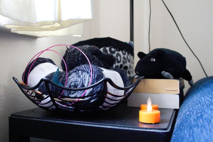 Warum auch Halloween politisch ist - Spinnennetz-Korb und Ratte - Zebraspider DIY Anti-Fashion Blog