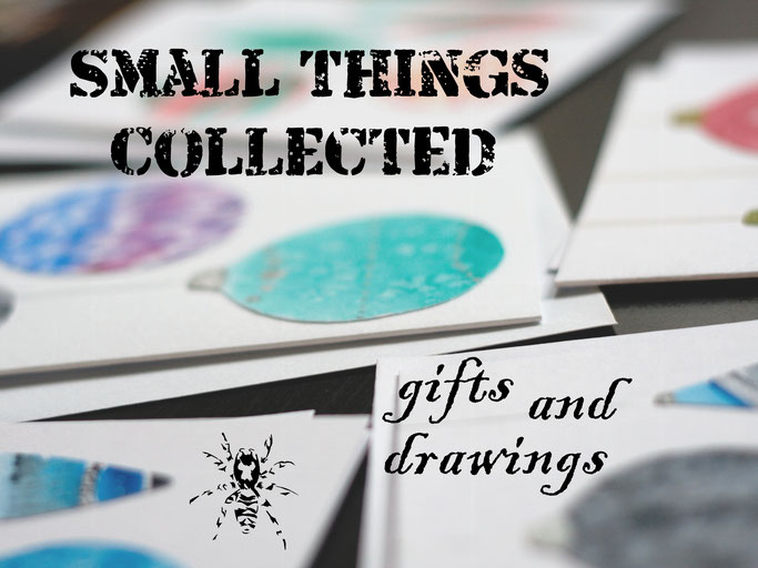 Small things collected - gifts and drawings - Zebraspider DIY Anti-Fashion Blog