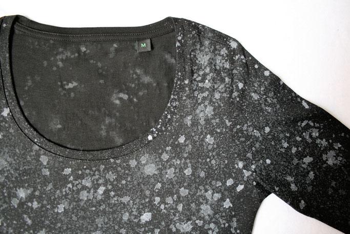 Warum Zebraspider immer grüner wird - Langarmshirt aus Biobaumwolle - Zebraspider DIY Anti-Fashion Blog