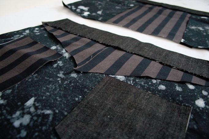Wie steht's mit der Apokalypse? - Jeansrock Teile - Zebraspider DIY Anti-Fashion Blog
